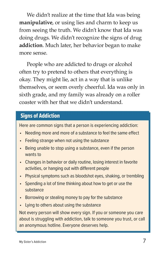 Book Preview For My Sister's Addiction Page 7