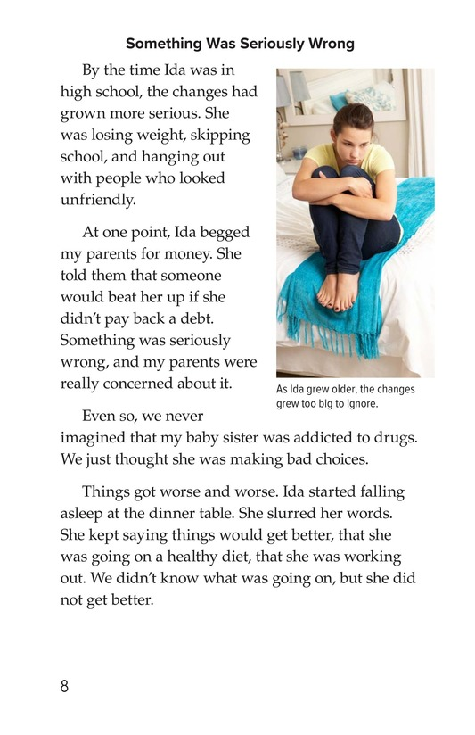 Book Preview For My Sister's Addiction Page 8