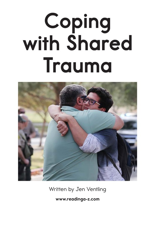 Book Preview For Coping with Shared Trauma Page 1