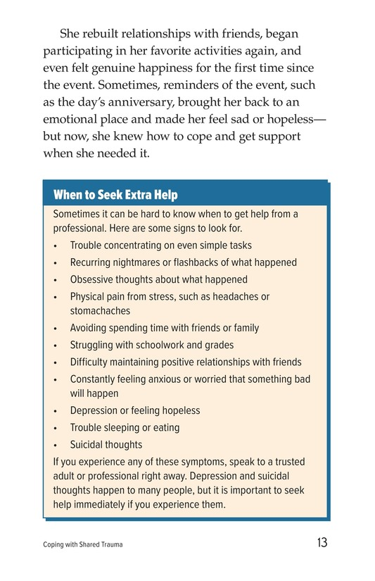 Book Preview For Coping with Shared Trauma Page 13