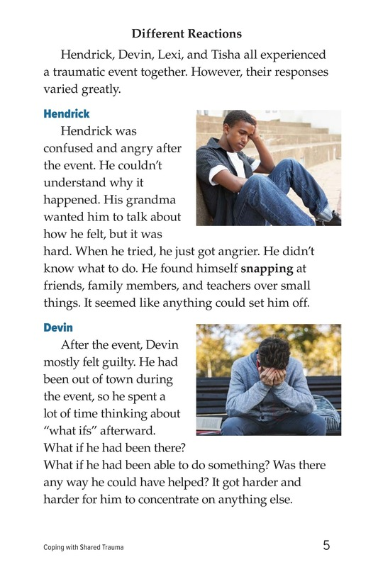 Book Preview For Coping with Shared Trauma Page 5