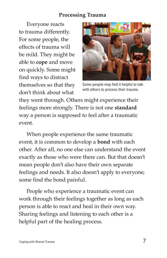 Book Preview For Coping with Shared Trauma Page 7