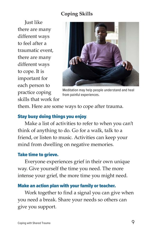 Book Preview For Coping with Shared Trauma Page 9