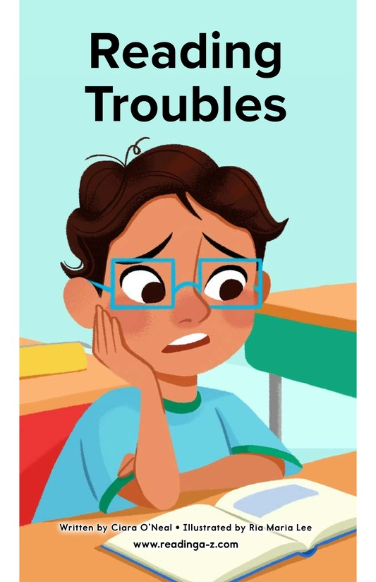 Book Preview For Reading Troubles Page 0