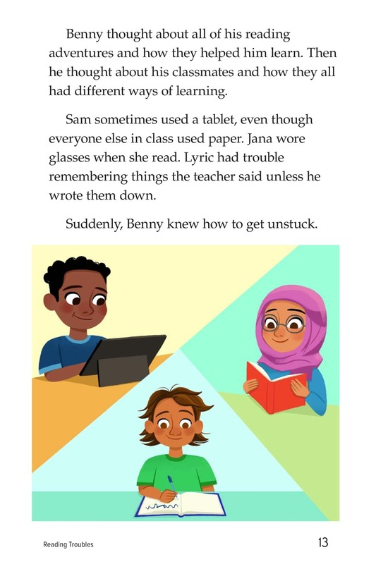 Book Preview For Reading Troubles Page 13