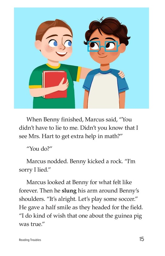 Book Preview For Reading Troubles Page 15