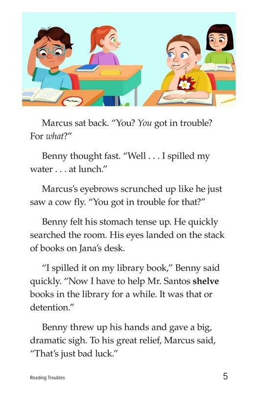 Book Preview For Reading Troubles Page 5