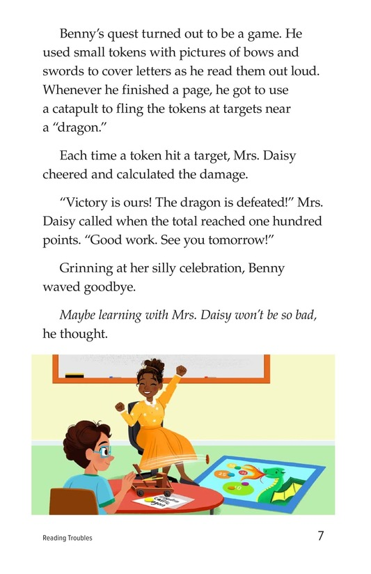 Book Preview For Reading Troubles Page 7