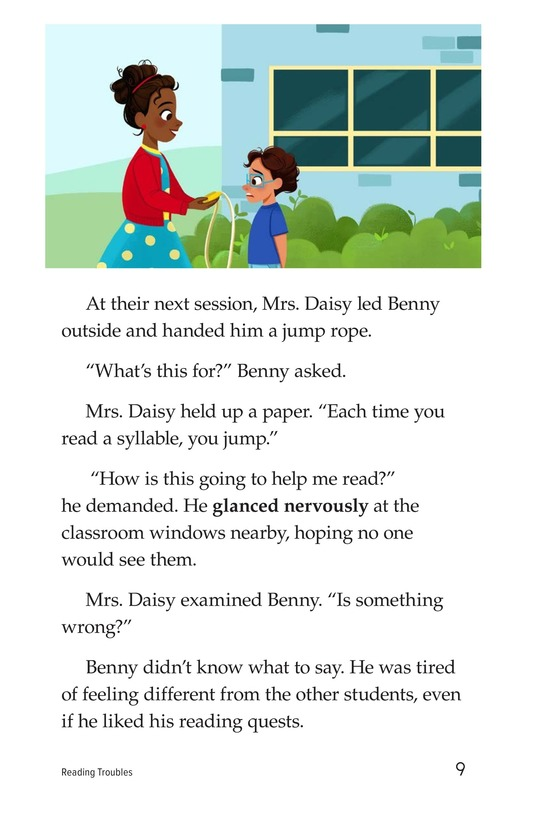 Book Preview For Reading Troubles Page 9