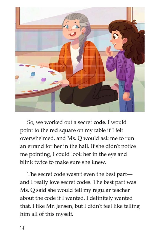 Book Preview For A Secret Signal Page 14