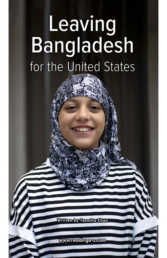Book Preview For Leaving Bangladesh for the United States Page 0