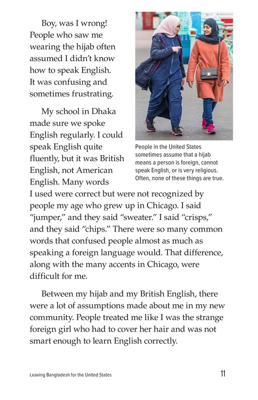 Book Preview For Leaving Bangladesh for the United States Page 11