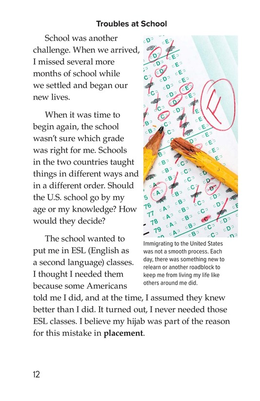 Book Preview For Leaving Bangladesh for the United States Page 12