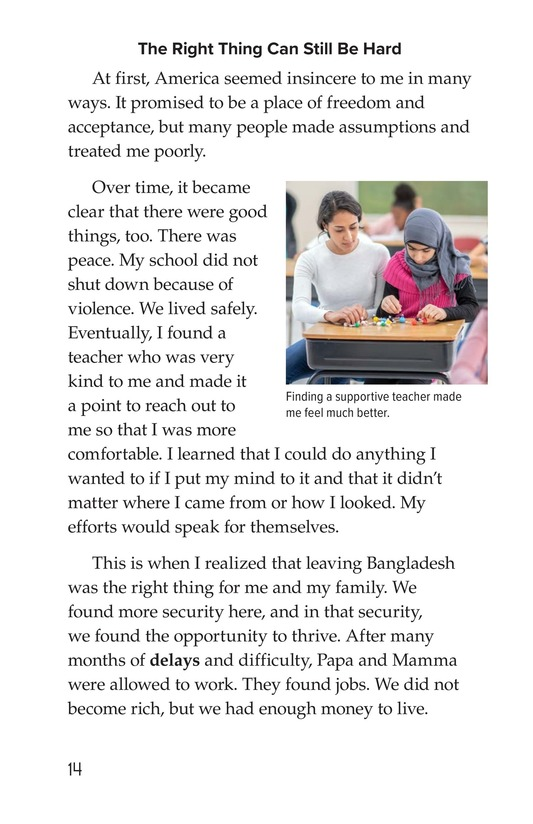 Book Preview For Leaving Bangladesh for the United States Page 14