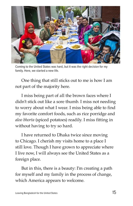 Book Preview For Leaving Bangladesh for the United States Page 15