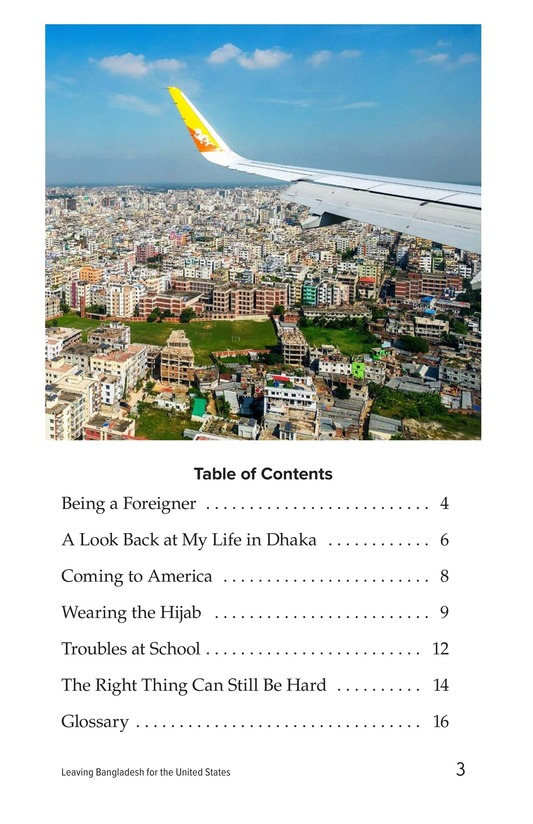 Book Preview For Leaving Bangladesh for the United States Page 3