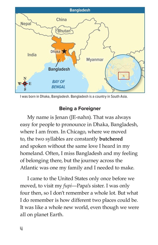 Book Preview For Leaving Bangladesh for the United States Page 4