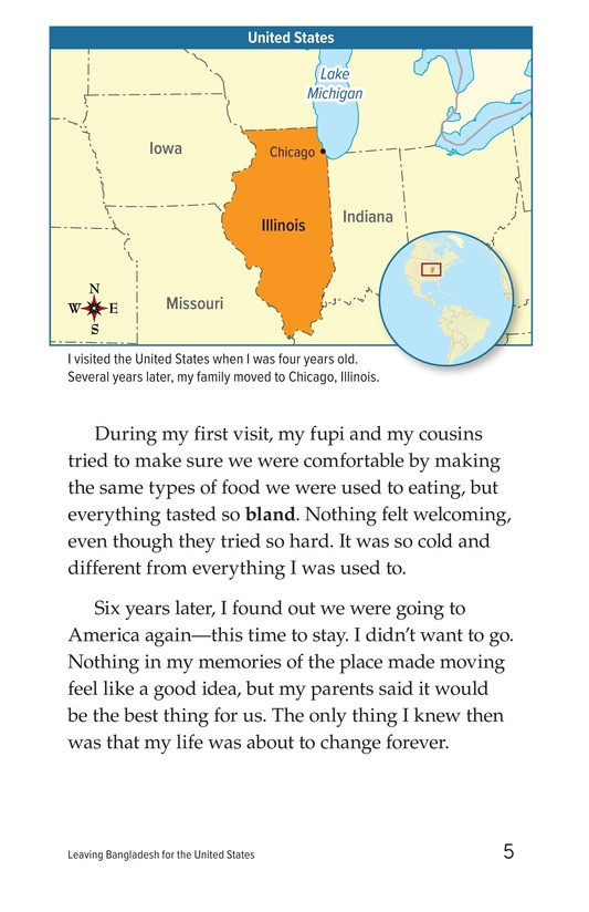 Book Preview For Leaving Bangladesh for the United States Page 5