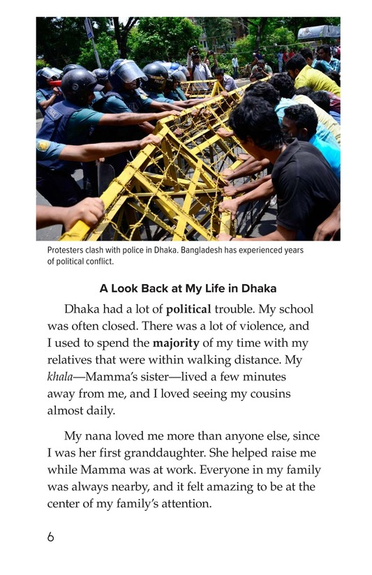 Book Preview For Leaving Bangladesh for the United States Page 6