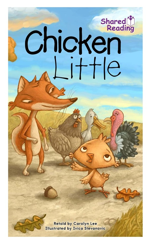 Book Preview For Chicken Little Page 0
