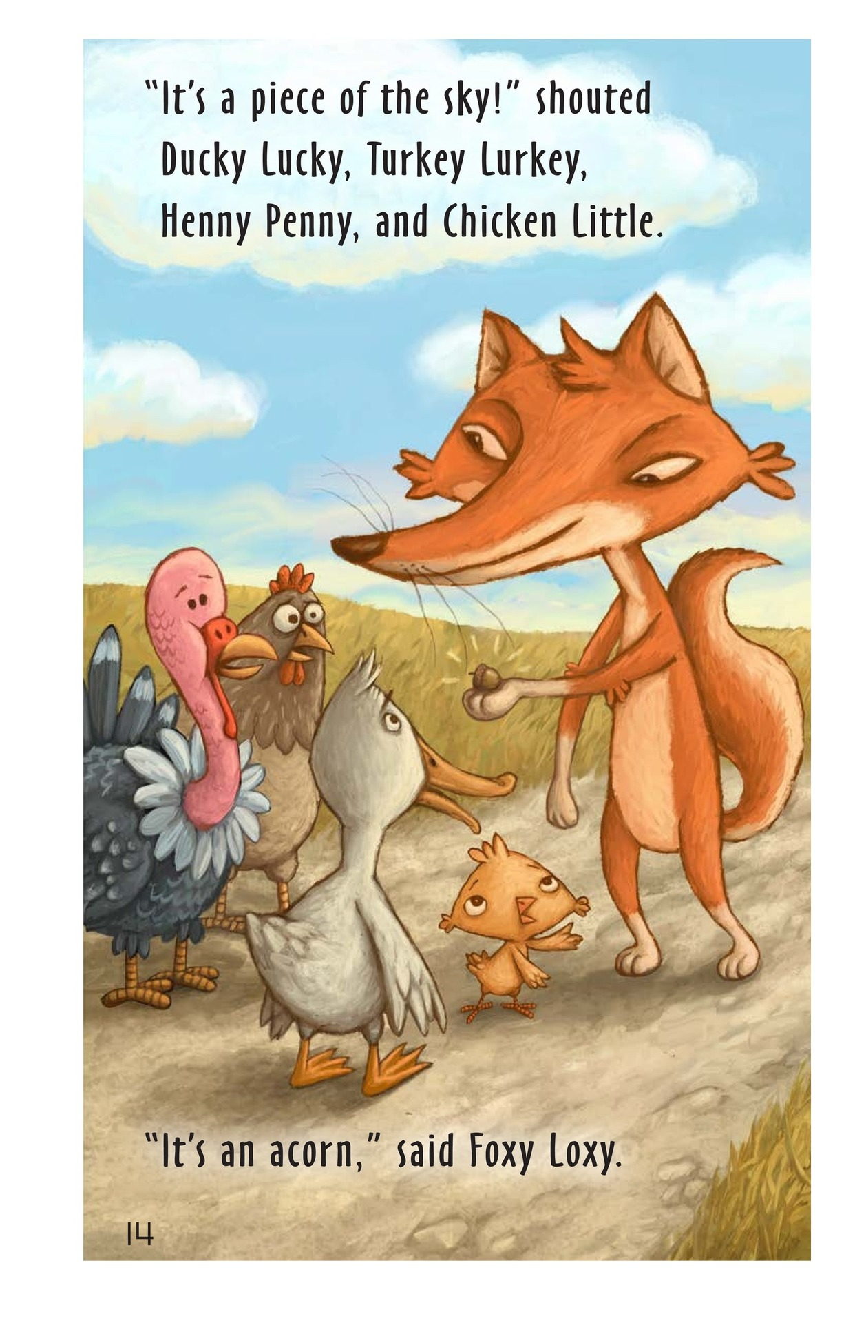 Book Preview For Chicken Little Page 13