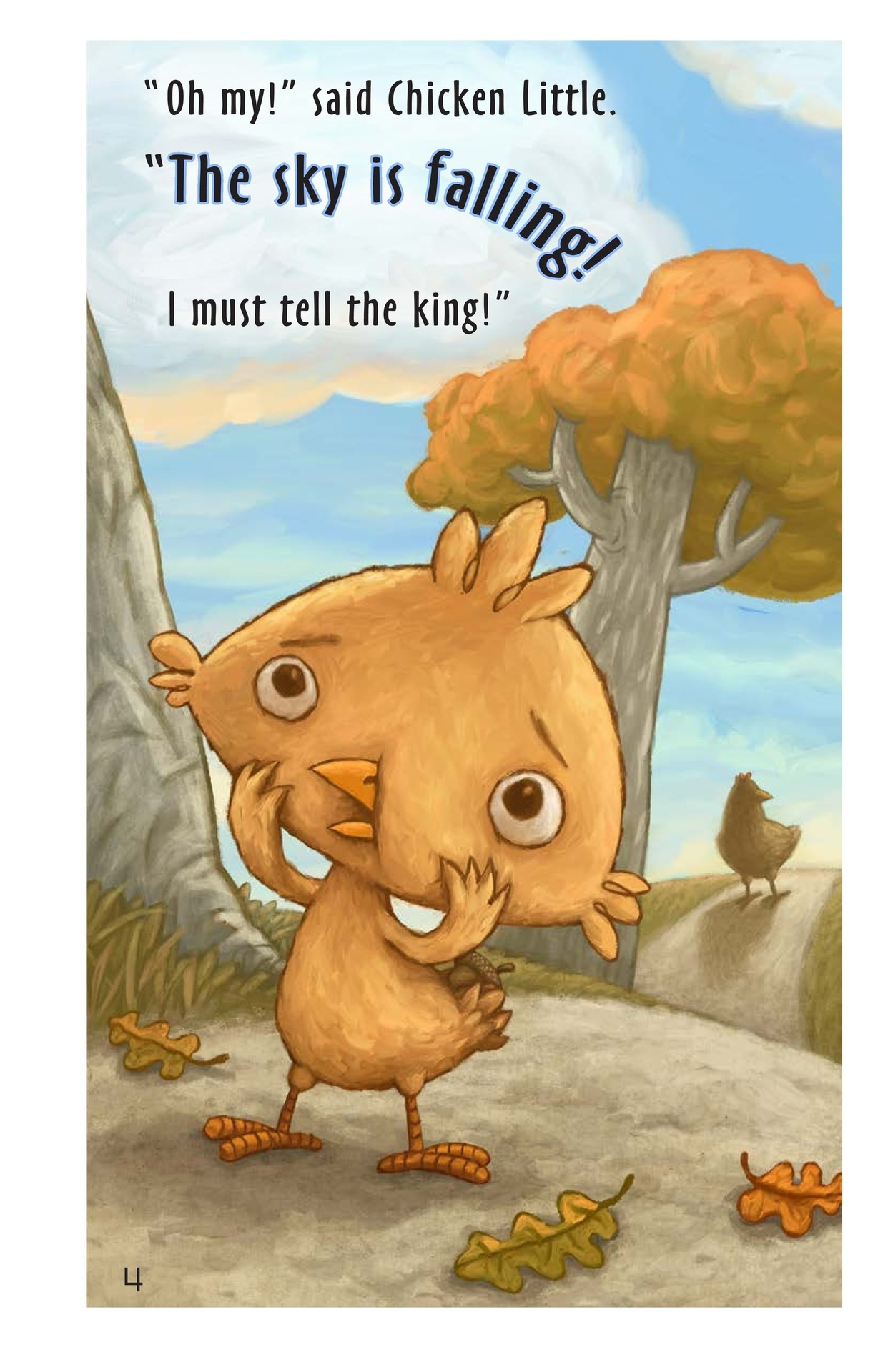 Book Preview For Chicken Little Page 3