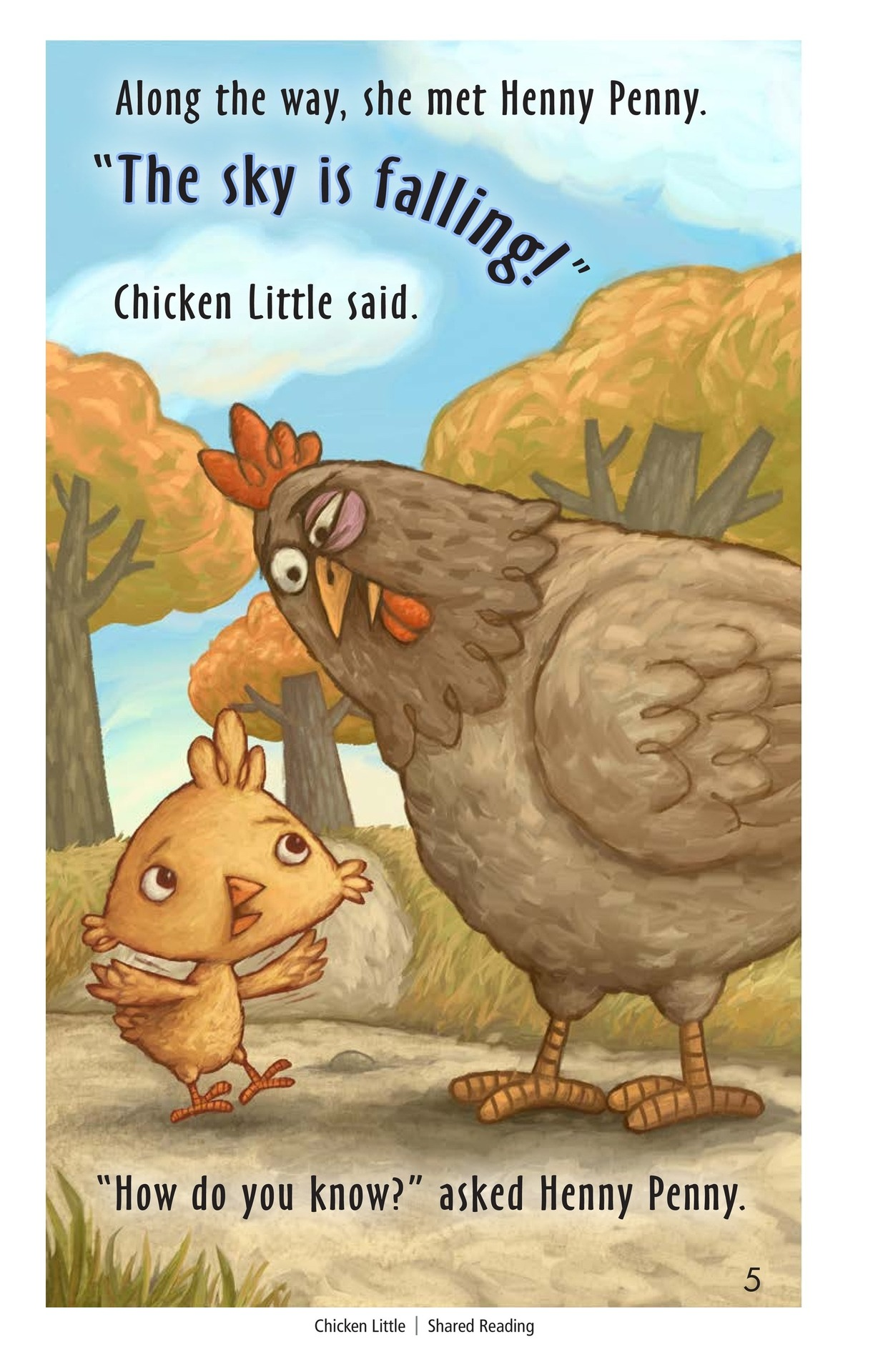 Book Preview For Chicken Little Page 4