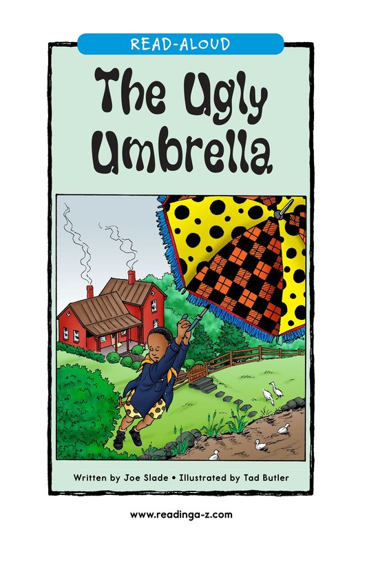 Book Preview For The Ugly Umbrella Page 1