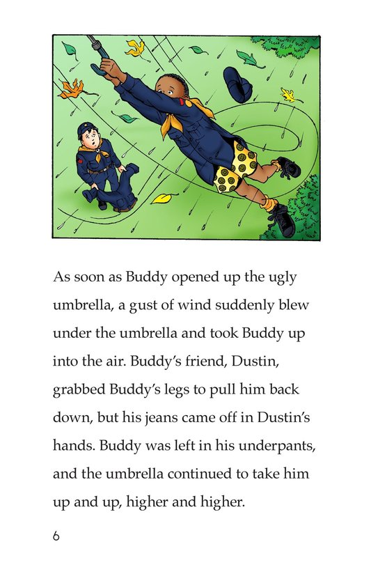 Book Preview For The Ugly Umbrella Page 6