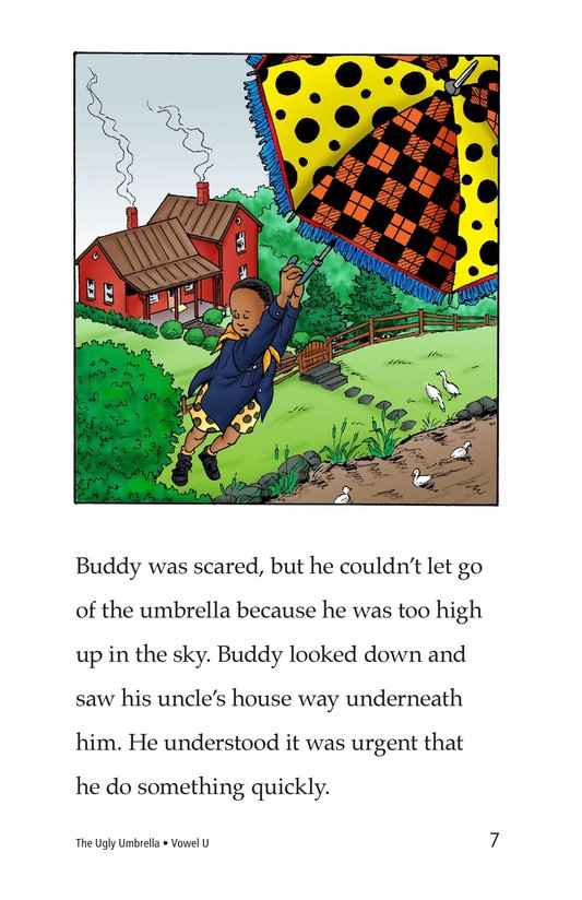 Book Preview For The Ugly Umbrella Page 7