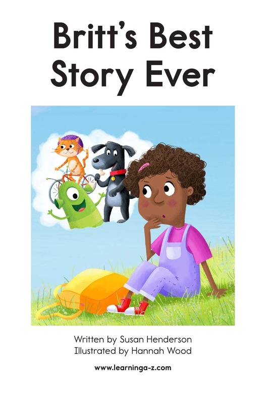 Book Preview For Britt's Best Story Ever Page 2