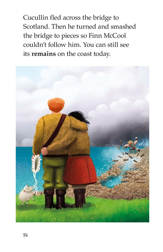 Book Preview For The Legend of the Giant's Causeway Page 14