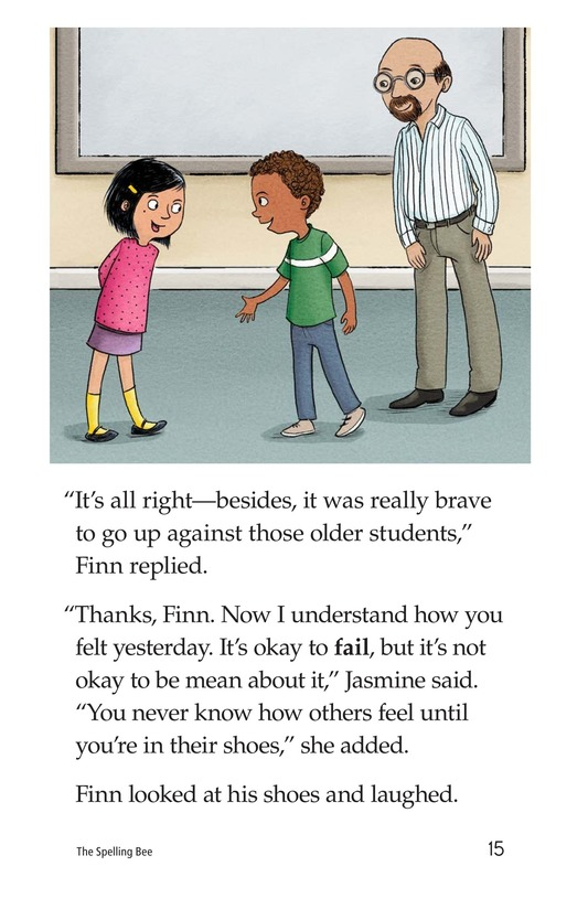 Book Preview For The Spelling Bee Page 15