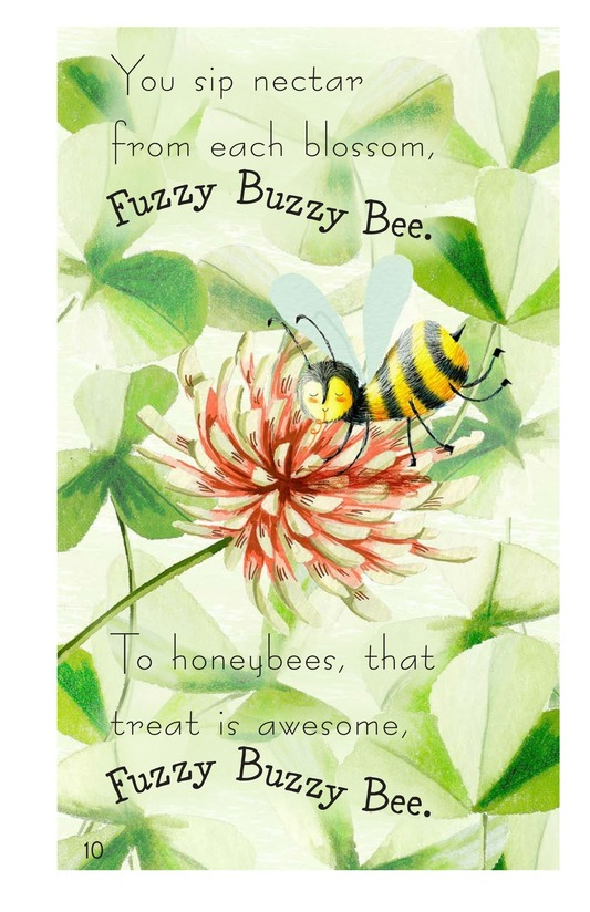 Book Preview For Fuzzy Buzzy Bee Page 10