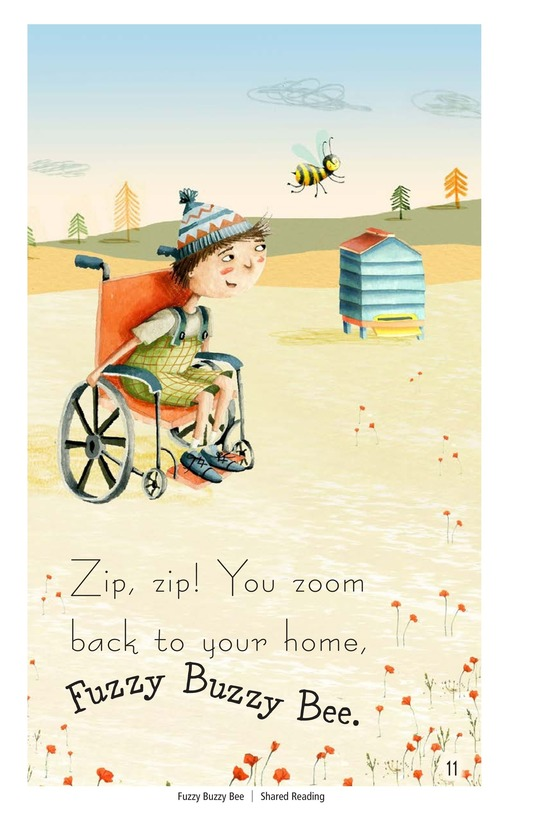 Book Preview For Fuzzy Buzzy Bee Page 11