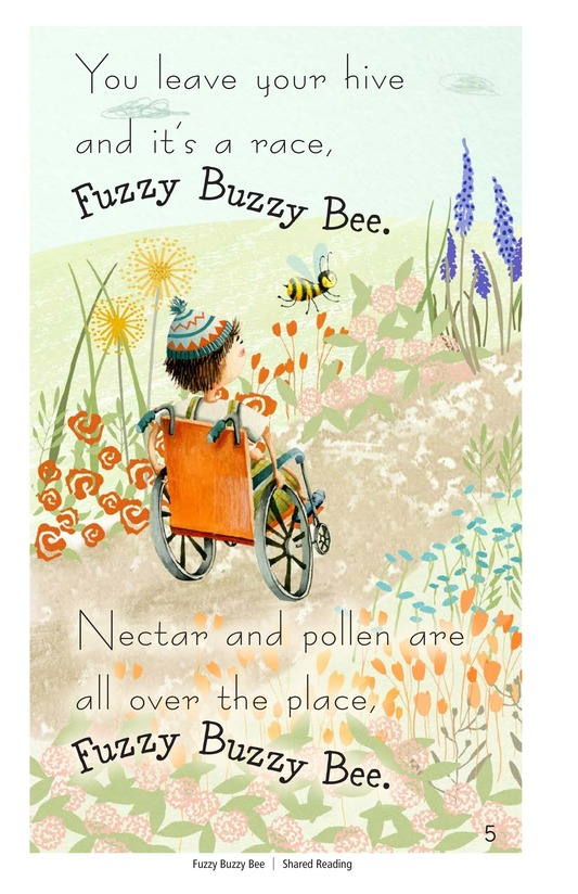 Book Preview For Fuzzy Buzzy Bee Page 5