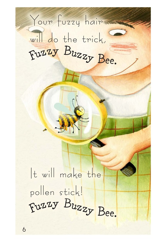 Book Preview For Fuzzy Buzzy Bee Page 6
