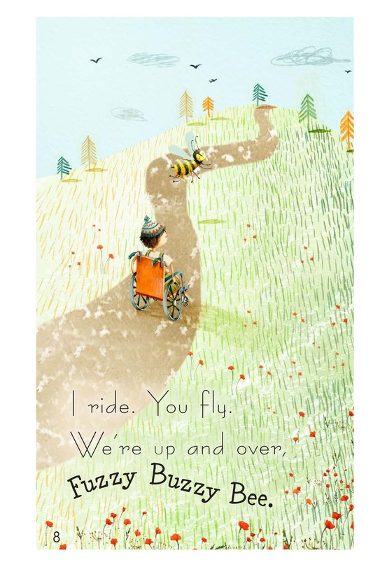 Book Preview For Fuzzy Buzzy Bee Page 8