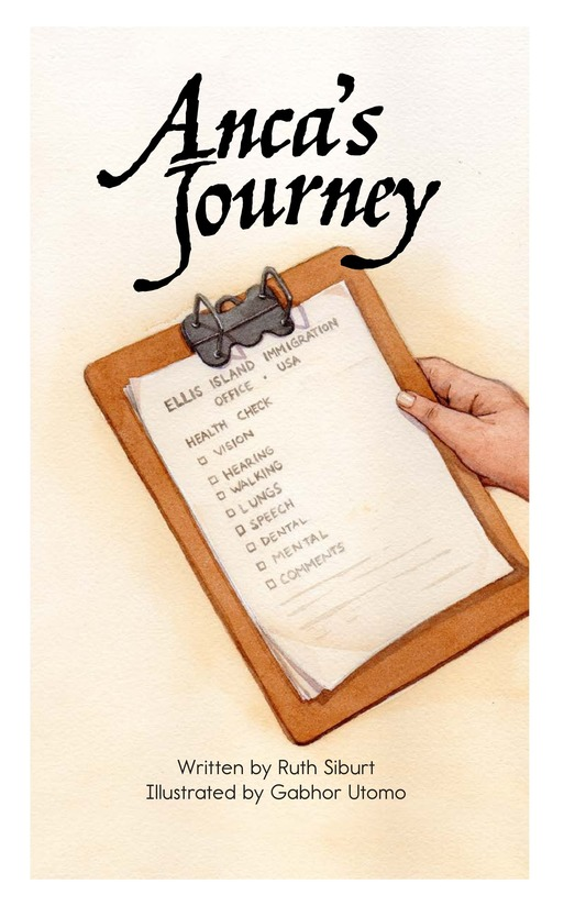 Book Preview For Anca's Journey Page 2