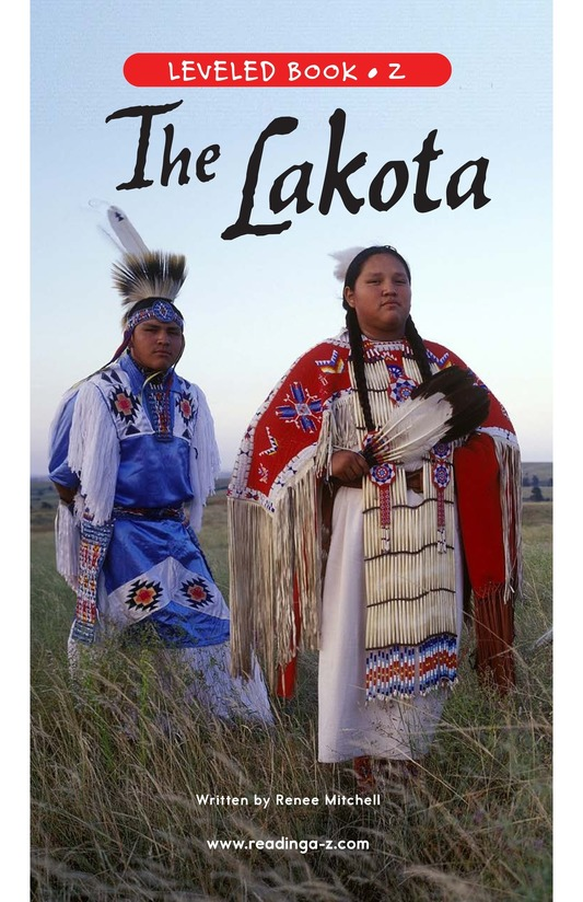 Book Preview For The Lakota Page 0