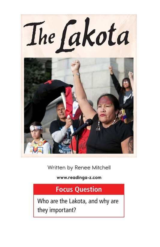 Book Preview For The Lakota Page 1