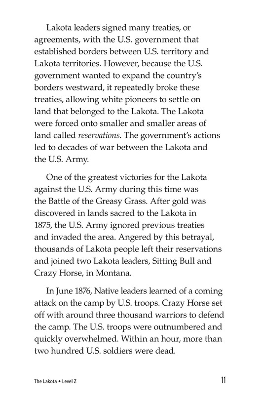 Book Preview For The Lakota Page 11