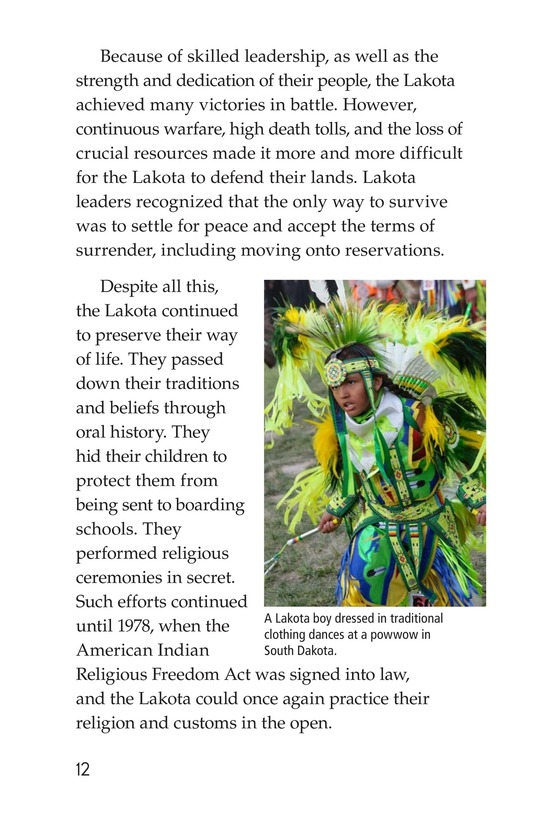 Book Preview For The Lakota Page 12
