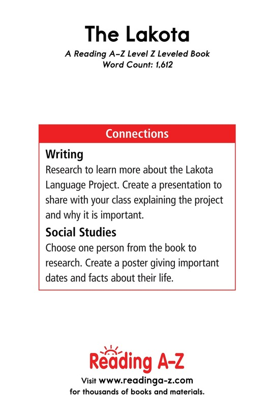 Book Preview For The Lakota Page 17