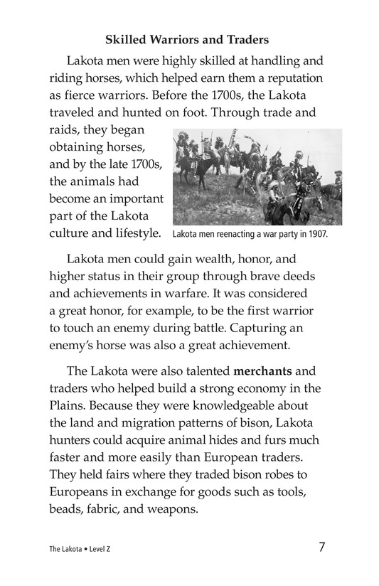 Book Preview For The Lakota Page 7