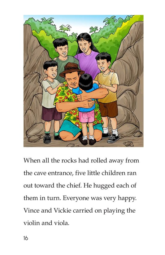 Book Preview For Vince and Vickie's Adventure Page 16