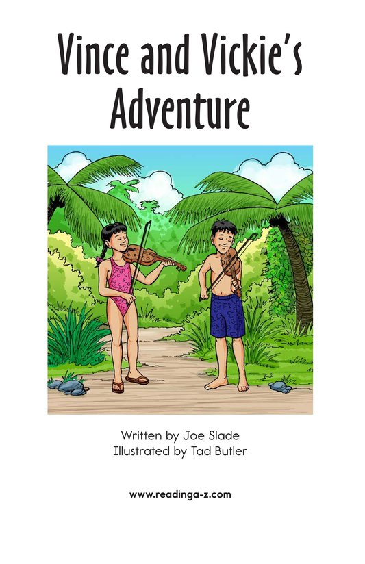 Book Preview For Vince and Vickie's Adventure Page 2