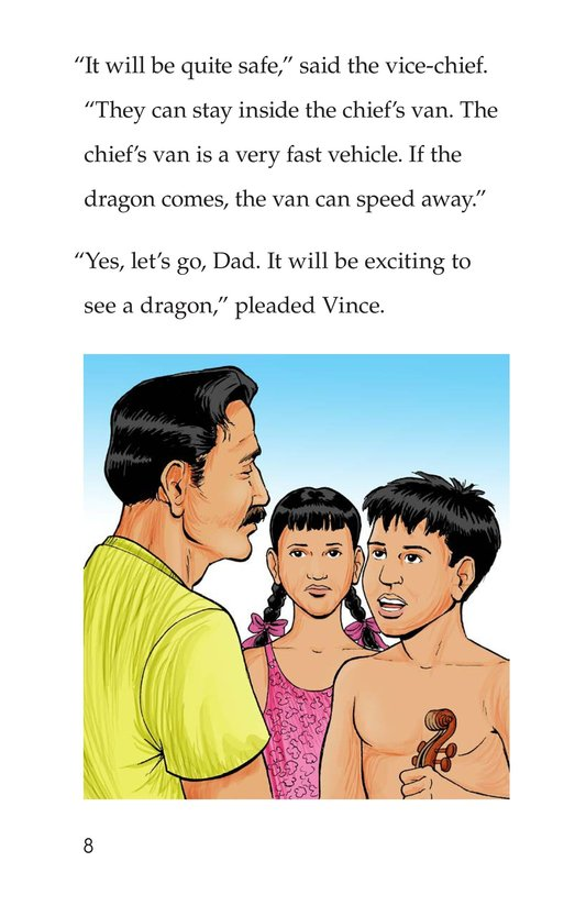 Book Preview For Vince and Vickie's Adventure Page 8