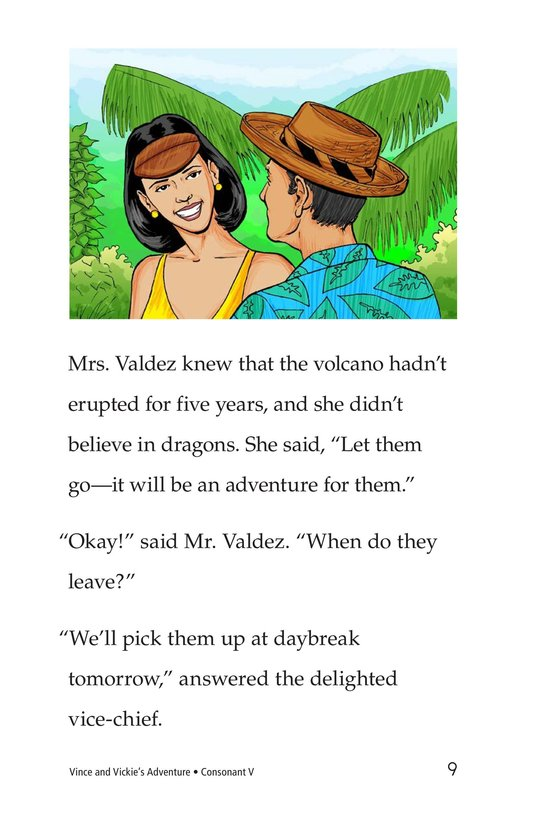 Book Preview For Vince and Vickie's Adventure Page 9
