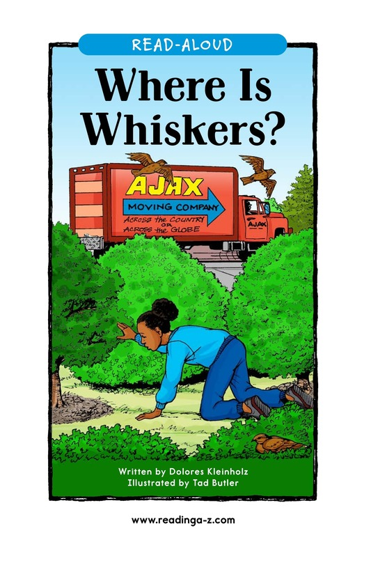 Book Preview For Where Is Whiskers? Page 1